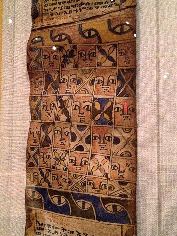 Ethiopian Magic Scroll.