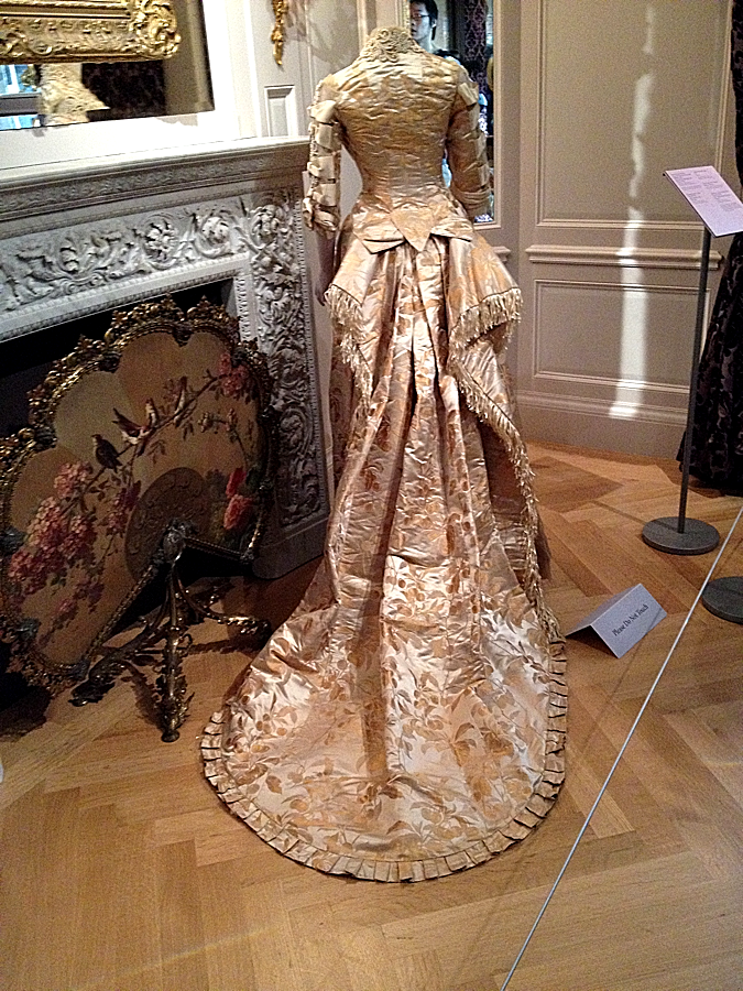 Gilded Age outfit, Museum of the City of New York, East Harlem.