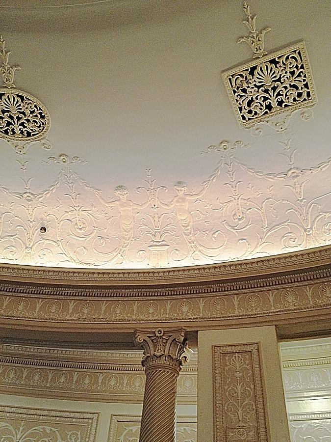 Ridiculously Charming Plasterwork.
